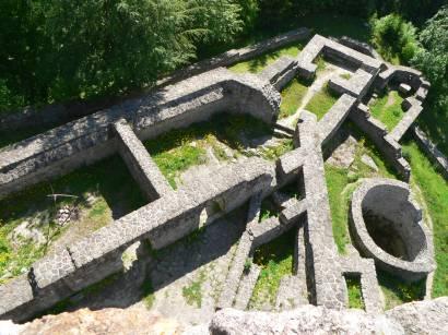 Burgruine Altnussberg - Ausflugsziel Burgen / Ruinen in Bayern