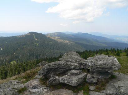 Freizeittipp in Bayern Aussichtspunkt am Großen Arber