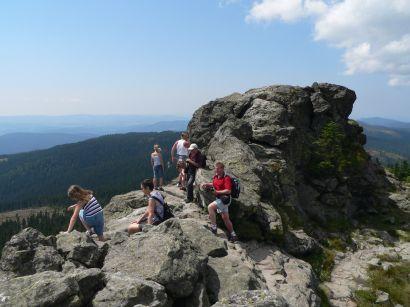 Wandern am Arber Berg
