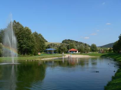 arrach-bayerischer-wald-seepark-arrach-wasser-teich
