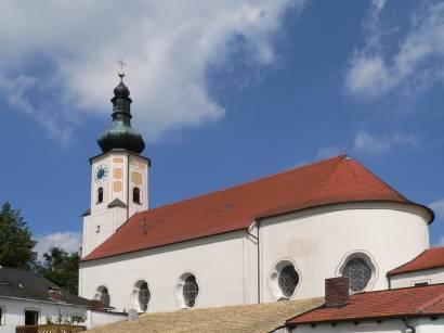 Wallfahrtskirche Weissenregen im Bayerischen Wald