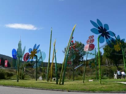 Bodenmais Ausflugsziel Joska Kristall Glas Glaskunst und Glasblumen