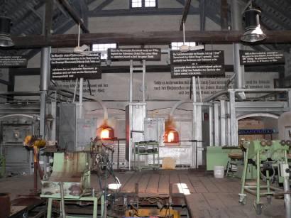 Bodenmais Bayerischer Wald Glasherstellung Glasbläser Glashütte