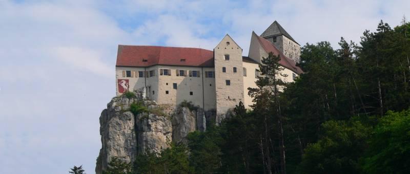 Burg Prunn im Altmühltal bei Essing und Riedenburg