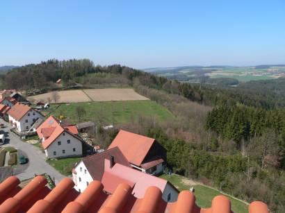 Aussichtsturm Landkreis Schwandorf Burgruine Thannstein
