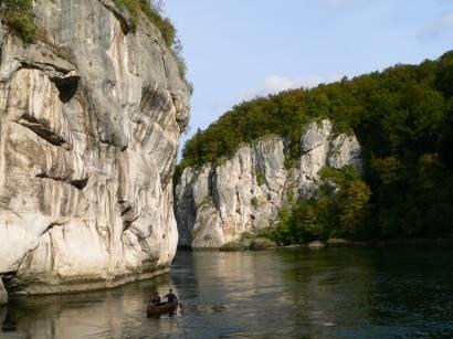 Donaudurchbruch mit Europa Diplom