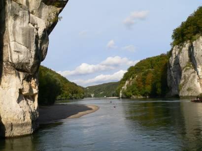 Donaudurchbruch bei Weltenburg im Altmühltal