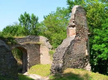 Bilder und Fotos der Burgruine Donaustauf - Burgruine Bayern