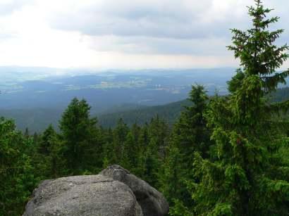 dreisessel-bayerwald-berge-bergwandern-aussichtspunkt