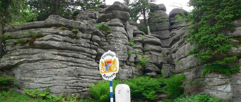 Dreisessel Berg im Bayerischen Wald - Dreisesselberg, Dreisesselfelsen ...