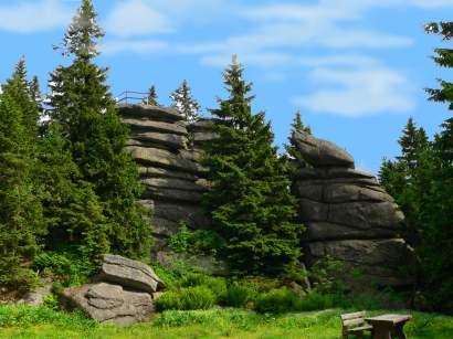 dreisessel-bayerwald-berge-bergwandern-sehenswertes-felsen-park