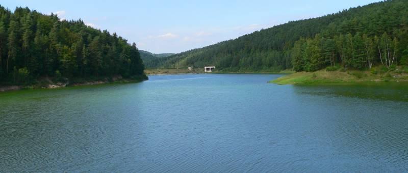 Eixendorfer Stausee Neunburg im Wald und Rötz Schwarzach Stausee
