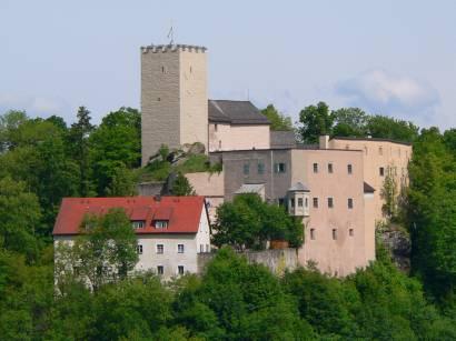 Bilder und Fotos der Burg Falkenstein im Luftkurort Falkenstein