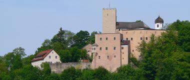 Burgen in Bayern Burg Falkenstein Ritterburg aus dem Mittelalter