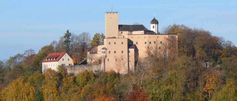 Burg Falkenstein Bayerischer Wald Landkreis Cham