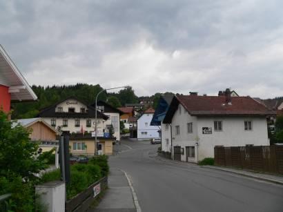 Frauenau im Bayerischen Wald am Fuße des Rachels beim Nationalpark Bayerischer Wald