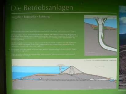Staudamm Frauenau ist ca 70 Meter hoch