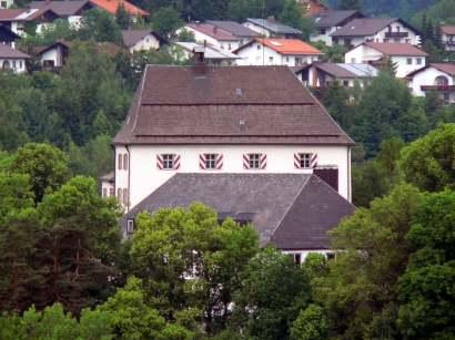 Ausflugsziel Schloß Wolfstein - Jagdmuseum, Fischereimuseum, Galerie Wolfstein