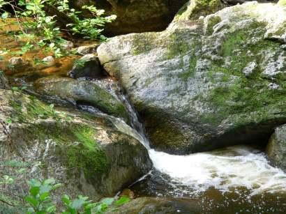 Geotope in Bayern im Bayerischen Wald - Wildbachklamm Buchberger Leite