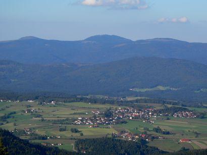 Tagesausflug Geisskopf Wanderung Bayerwaldberge Aussichtsberg