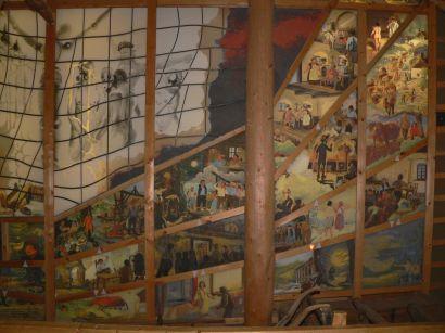 Gläserne Scheune Hinterglasmalerei Museum und Galerie in Bayern