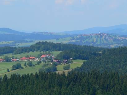 Orte rund um den Haidel: Grainet, Haidmühle, Hinterschmiding, Jandelsbrunn, Neureichenau, Philippsreut