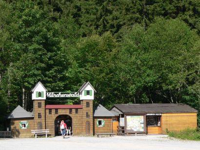 Familienpark und Kinderpark Märchenwald am großen Arbersee Märchenpark