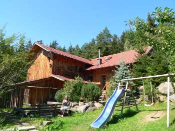 ... in Bayern - der besondere Hütten Urlaub im Bayerischen Wald