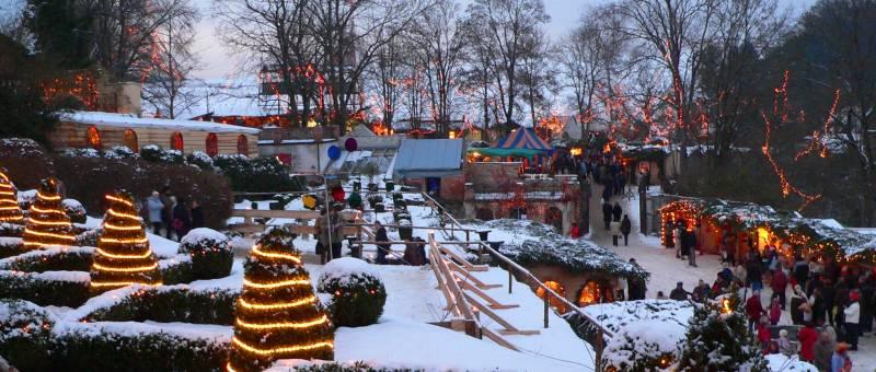 Romantischer Weihnachtsmarkt.Romantischer Weihnachtsmarkt Hexenagger Christkindlmarkt Bayern