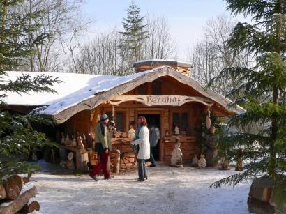 Dezember Weihnachtsmarkt Hexenagger Altmühltal in Bayern