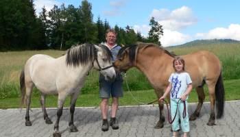 Urlaub mit Tieren Ferien und Pferde reiten