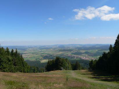 Wanderwege am Hohen Bogen - Wandertouren am Gipfel