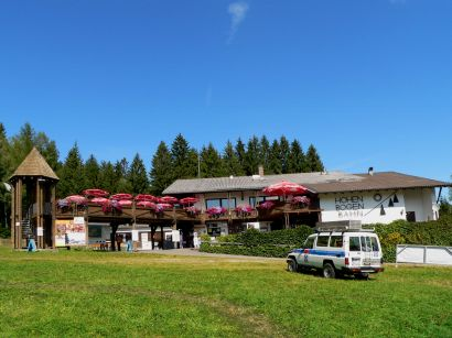 Talstation am Hohen Bogen Bergbahn und Sommerrodelbahn