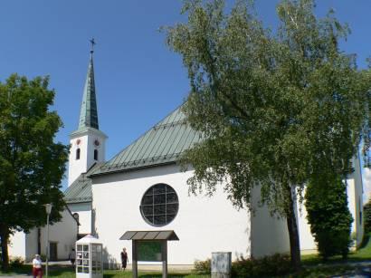 Bild und Foto Impressionen von der Pfarrkirche von Hohenau