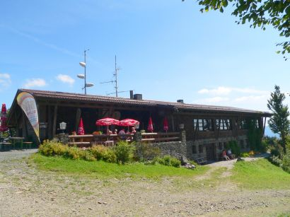 Berghaus Hoher Bogen Berghütte Gasthof