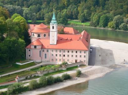Bilder und Fotos Weltenburger Kloster Ausflugsziele in Bayern im Altmühltal