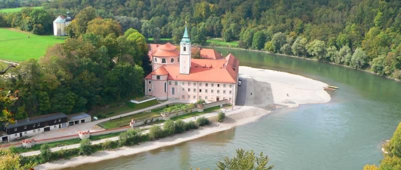 Kloster Weltenburg im Altmühltal