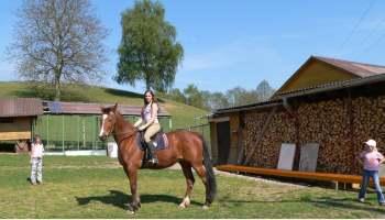 Reiterferien Ostbayern - Deutschland Ferienhof zum Reiten