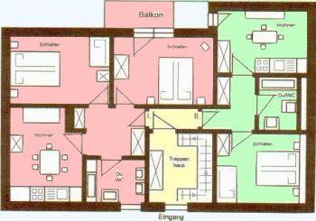 Ferienhaus Teisnach Ferienwohnungen Grundriss