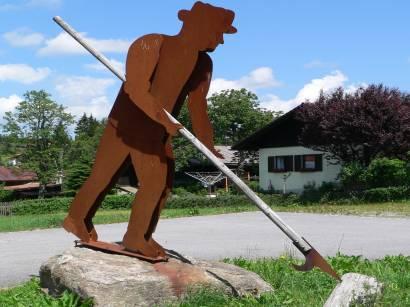 Nationalparkgemeinde Mauth - Bild ID bayerischer-wald-ausflugsziele-kunst-statue