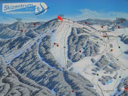 Wintersportort Mitterfirmiansreut - Skizentrum Mitterdorf