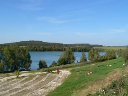 Bild Foto Impressionen Murner See - Badesee zum Segeln, Boot fahren baden schwimmen