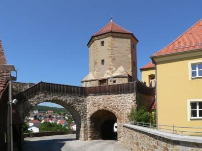 Stadtmauer, Stadttor und Stadtturm von Nabburg