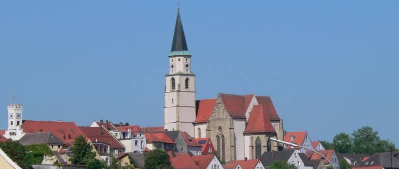 Nabburg in der Oberpfalz im Landkreis Schwandorf