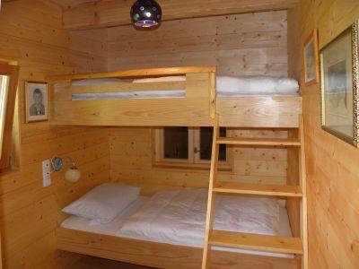 naturholzhaus-ferienwohnung-kinderschlafzimmer-urlaub-holzhuette