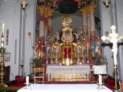 Wallfahrtsort Neukirchen beim Heiligen Blut in Bayern im Bayerwald