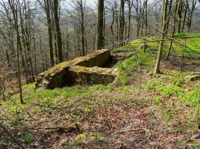 Römisches oder Romanisches Quadermauerwerk - neunburg-vorm-wald-warburg-burgruine-schwandorf-oberpfalz