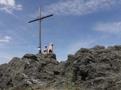 Fotos und Bilder vom Ausflugsziel Osser - Gipfelkreuz