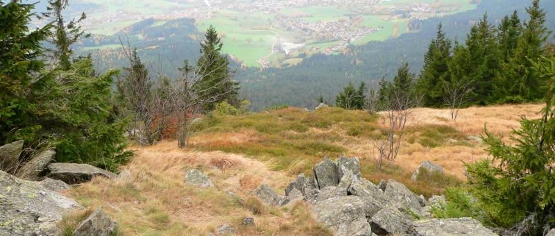Bayerwald Berg Osser - Bilder Fotos Impressionen - Wandern am Osser