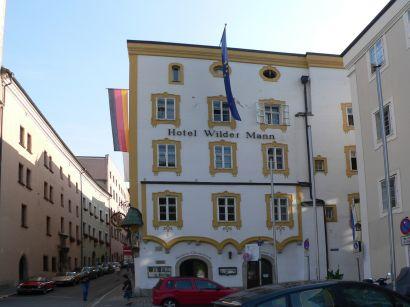 Hotel Wilder Mann mit Glasmuseum & Sissi Zimmer in Passau